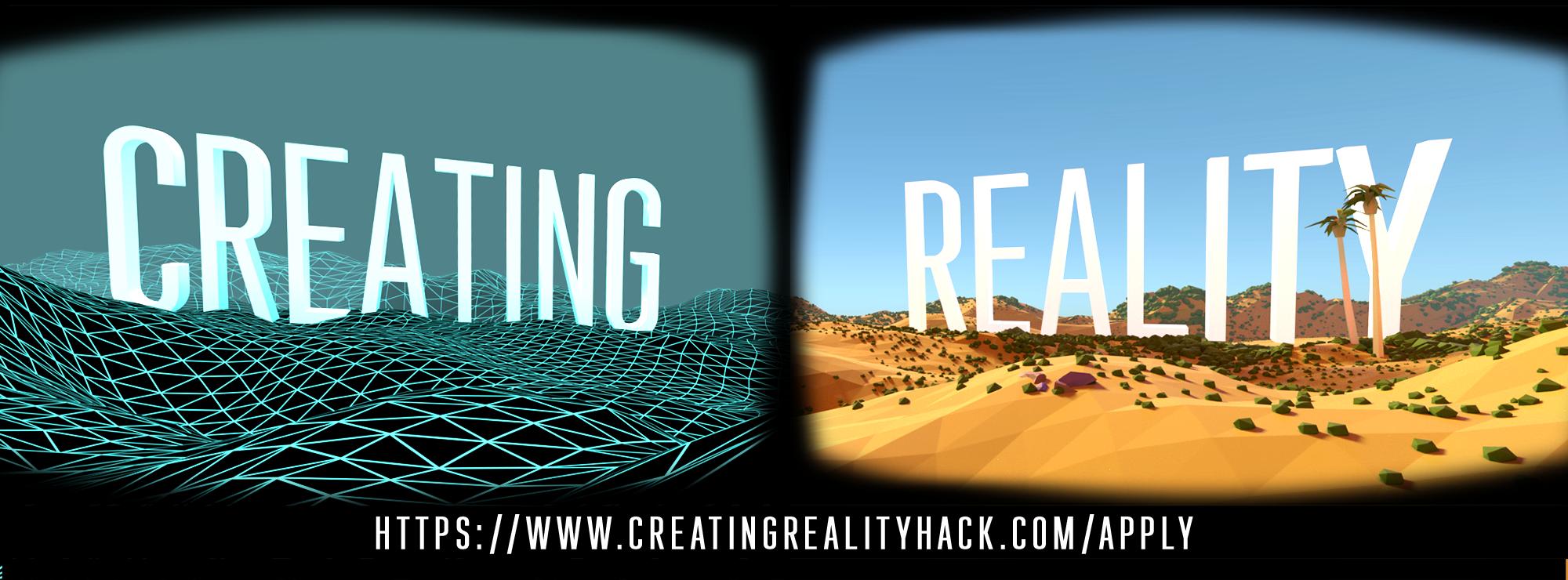 Creating Reality Hackathon