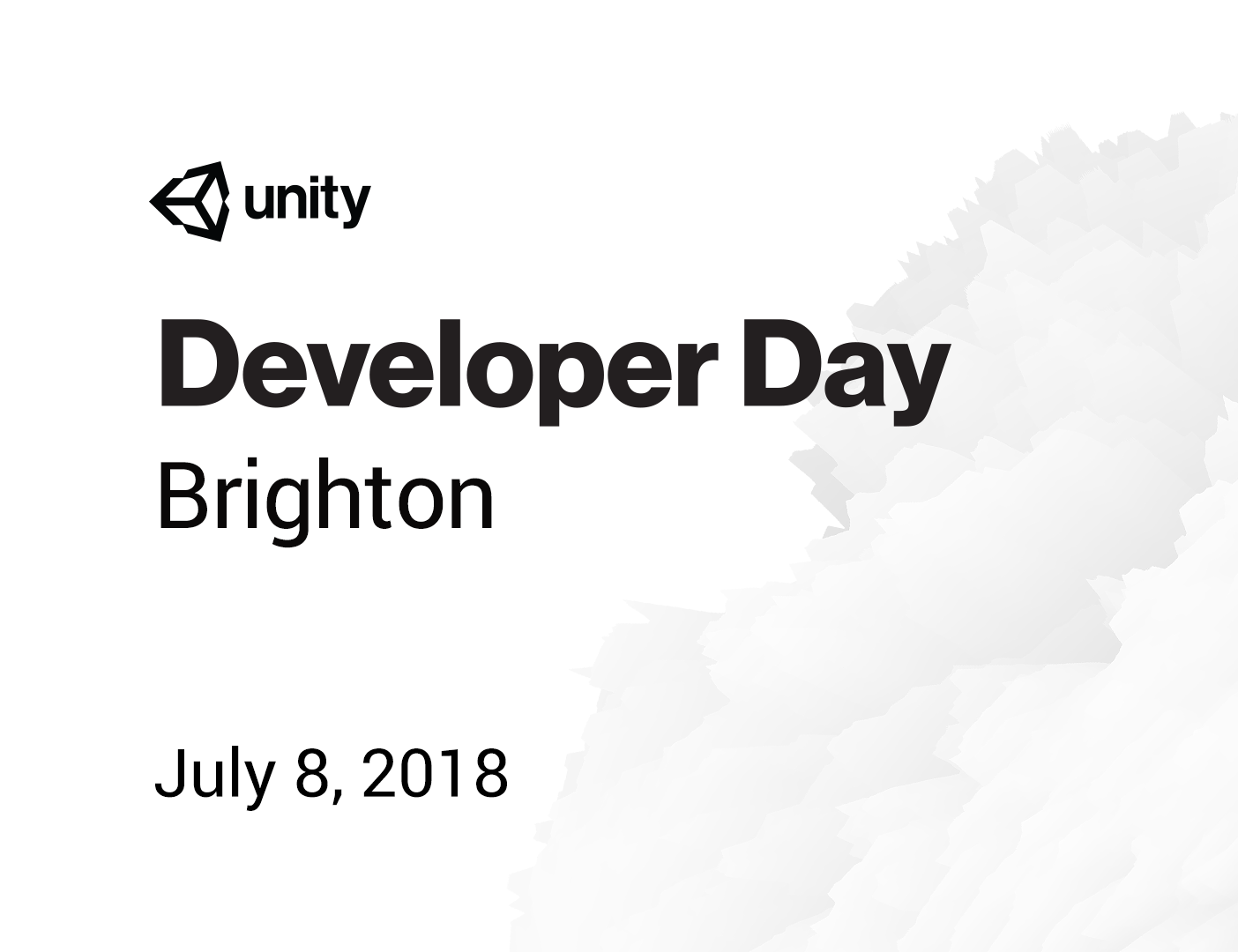 Unity Developer Day: Brighton 2018