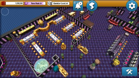 Honorable mention in Unity/Microsoft competition for Goldfather: Casino Tycoon