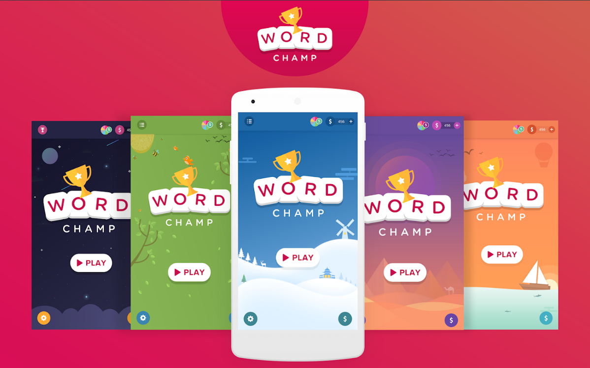 Word Games, Word Search Offline Game - Word Champ