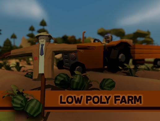 Low Poly Farm