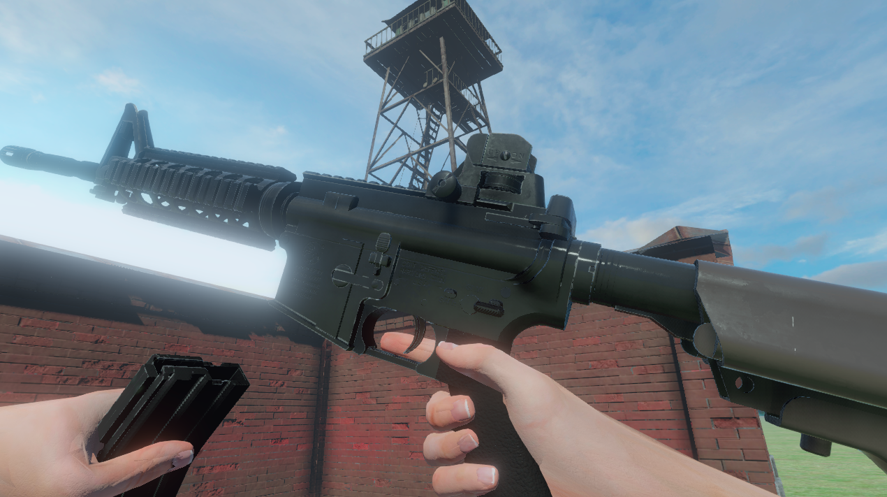 *NEW* M4A1 Battle of Territories Version 0.97