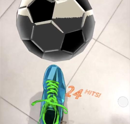 Play Football In AR