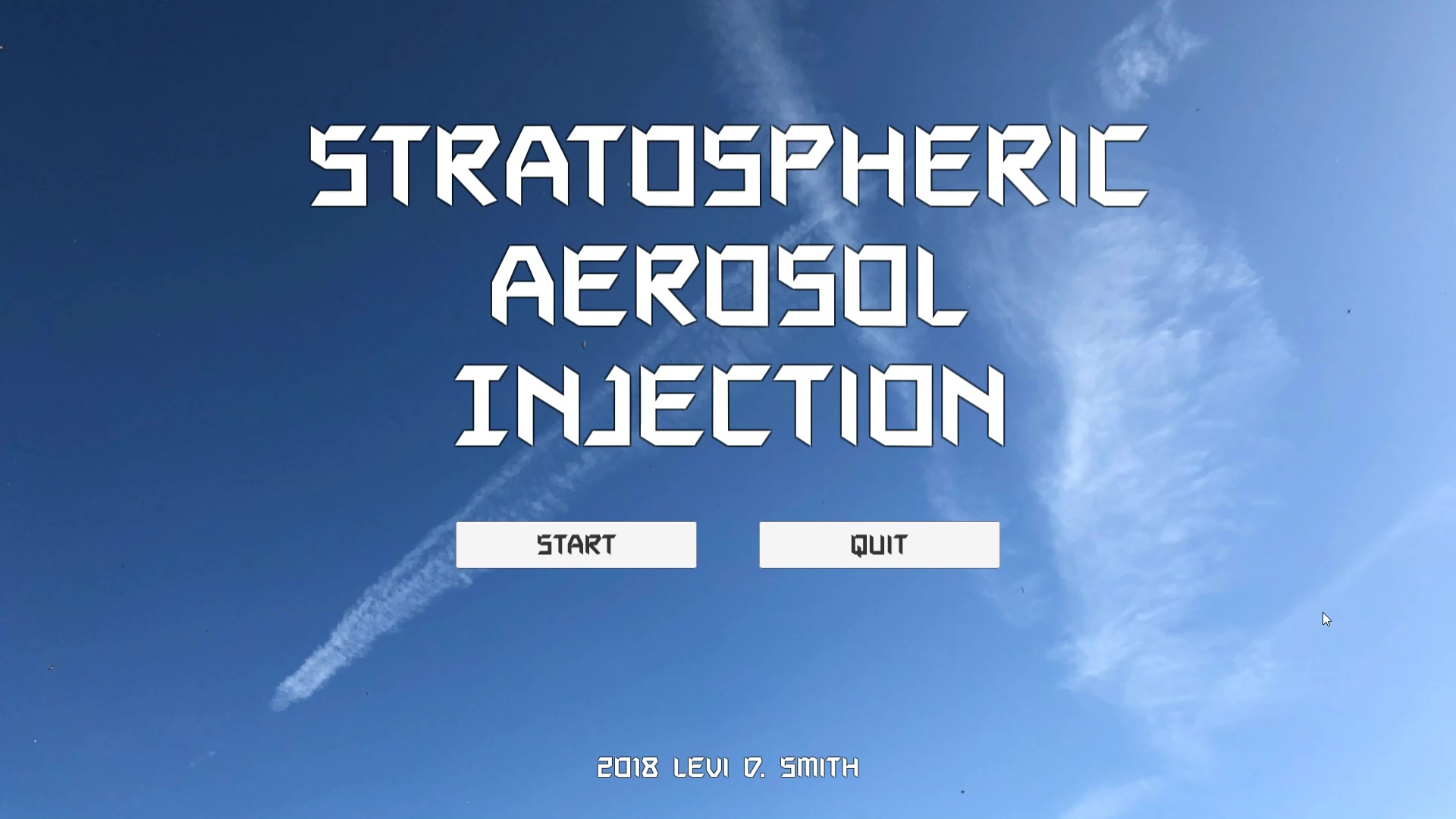 Stratospheric Aerosol Injection