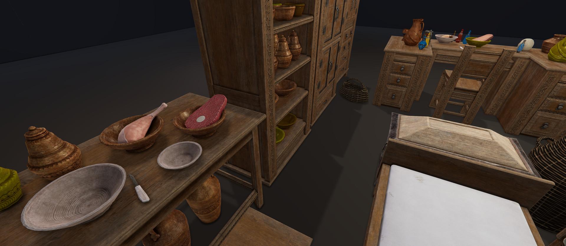 Fantasy furniture/props