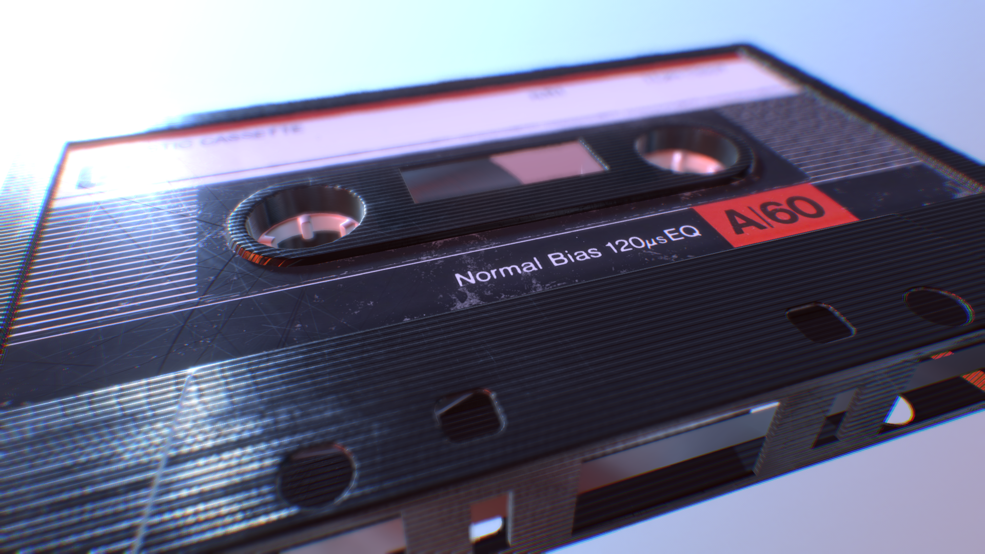 Cassette Tape - 3D Asset