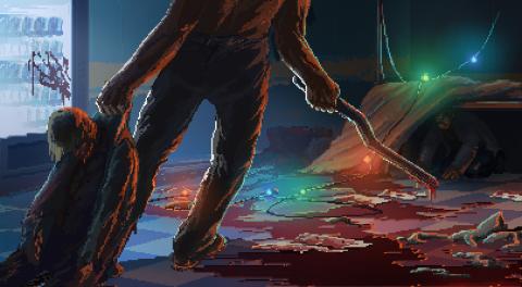 Psychological Pixel-Art Thriller The Long Reach