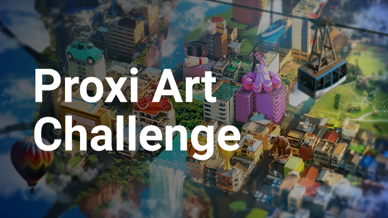 Will Wright's Proxi Art Challenge