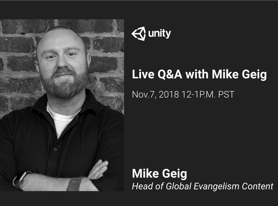 An-Hour Live Q&A with Mike Geig Session #1 for Connect Learners Group
