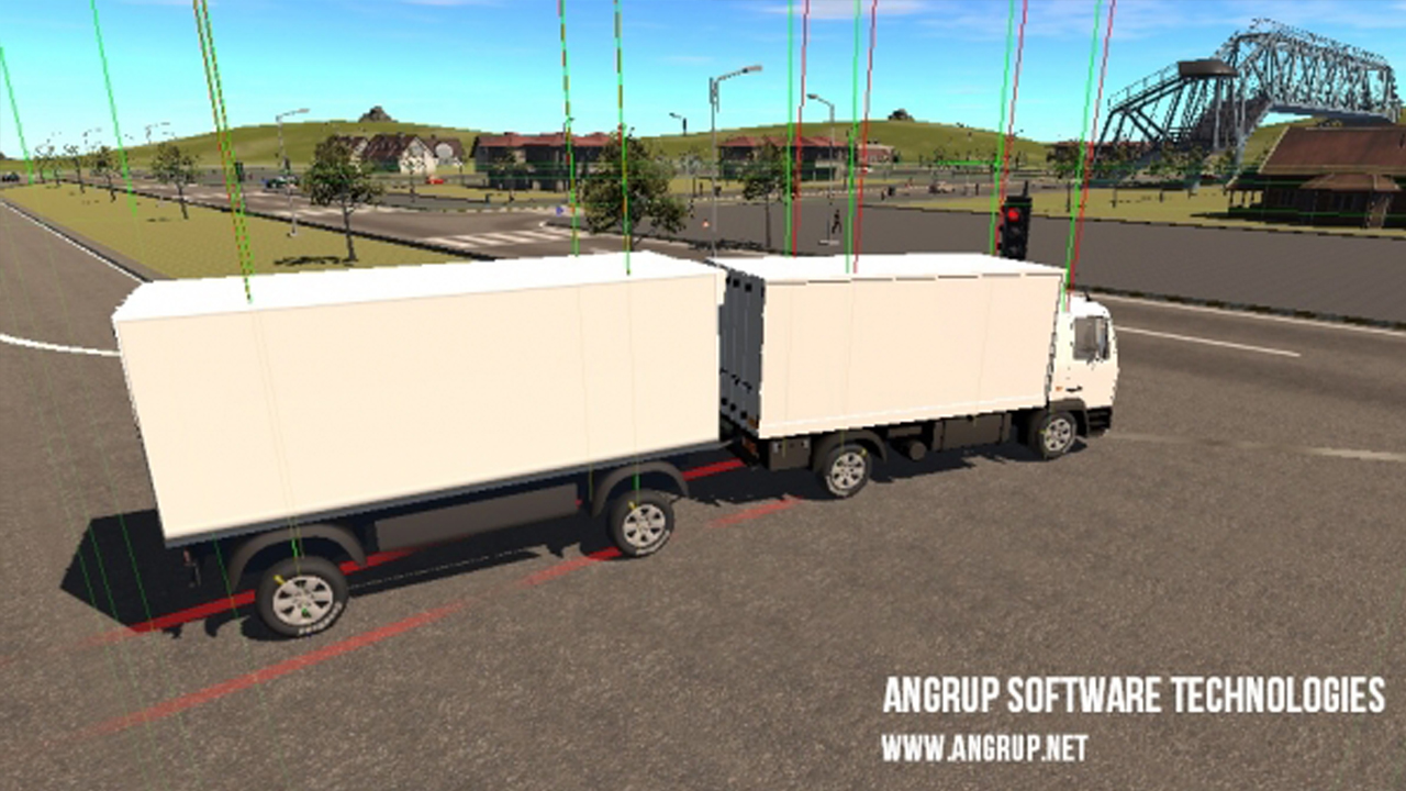XVEHICLE DRIVING SIMULATION