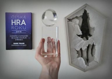 Dark Train won Czech Art Game of The Year 2016