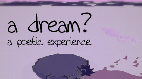 """a dream? - a poetic experience"" released"