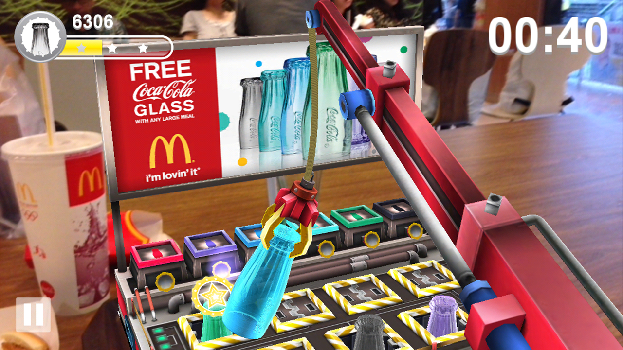 MCDONALD'S® 2013 COCA-COLA® GLASS AR ADVENTURES