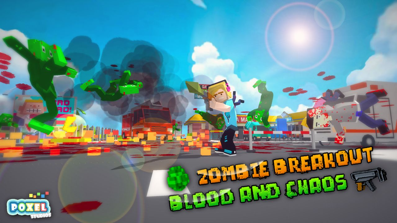 Zombie Breakout: Blood and Chaos