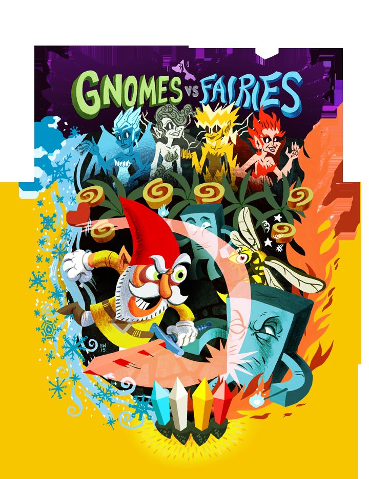 Gnomes vs. Fairies