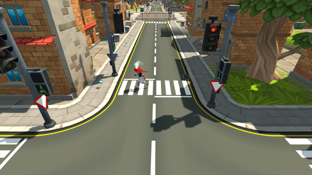Heimdal, Road Safety Game.