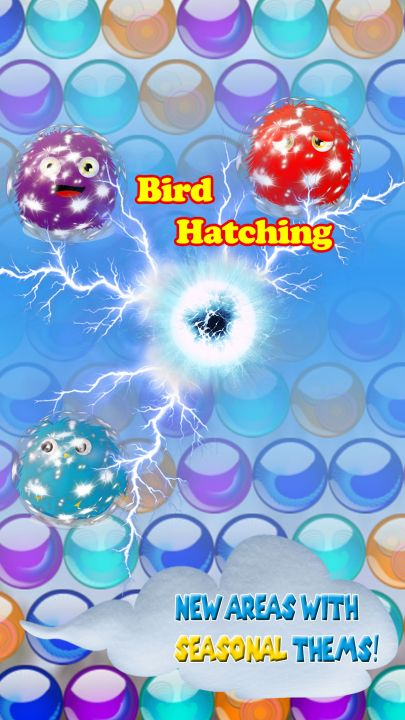 Bubble Bird Hatching