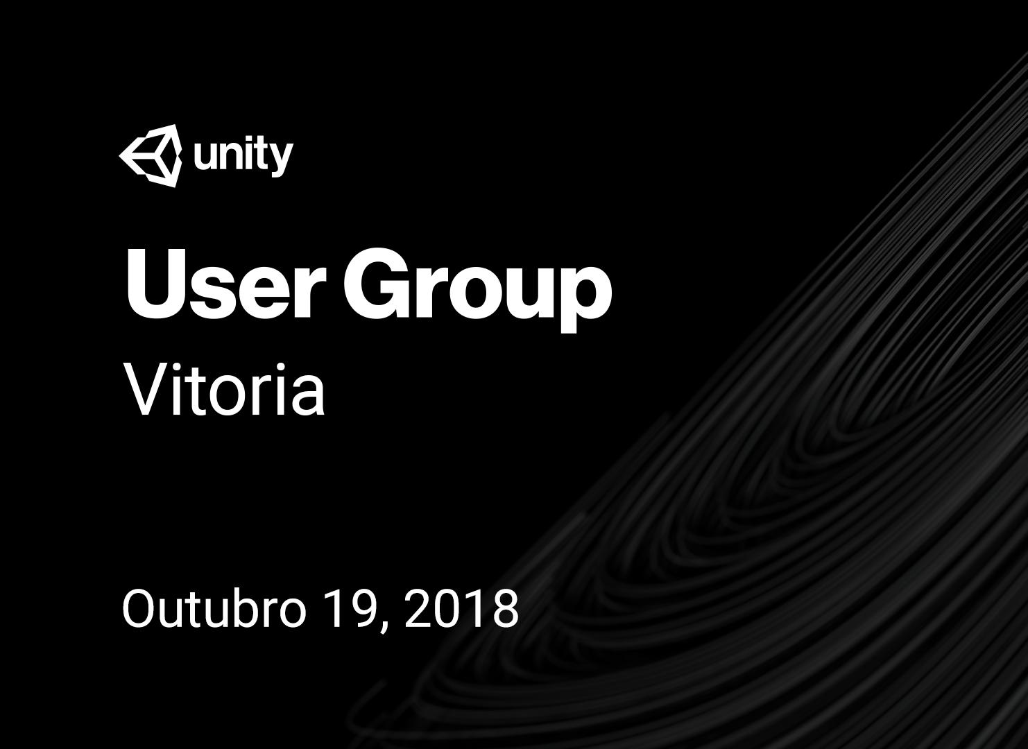 Unity User Group Vitória