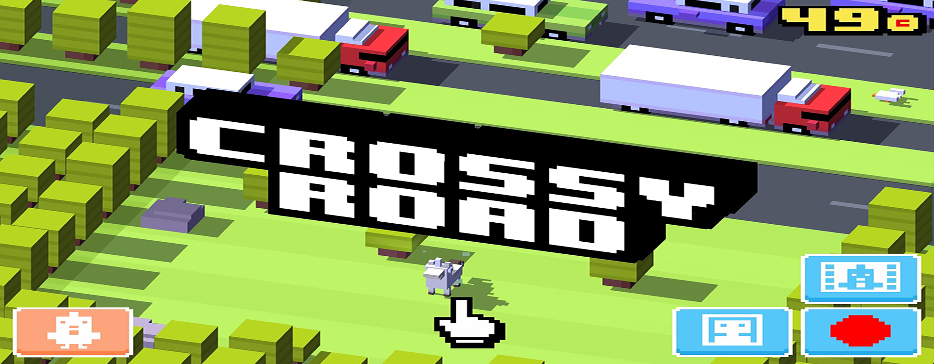 Crossy Road Unity Connect - crossy road coloring pages