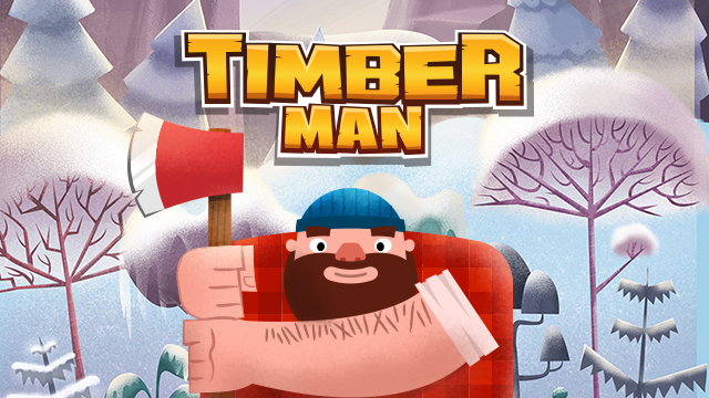 Timberman HD - Arcade Machine