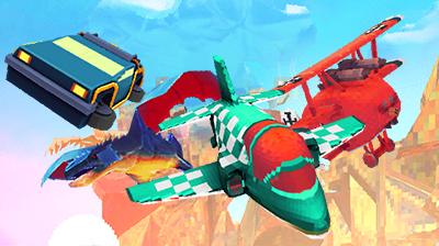 Pixwing: Arcade Flying Game Originates as a Survival Horror