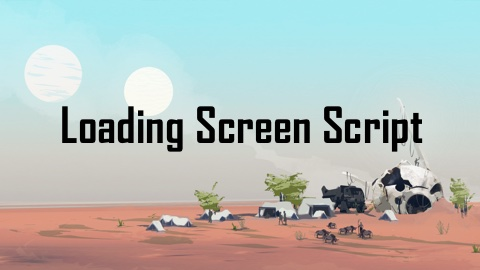 Free Loading Screen Manager Script