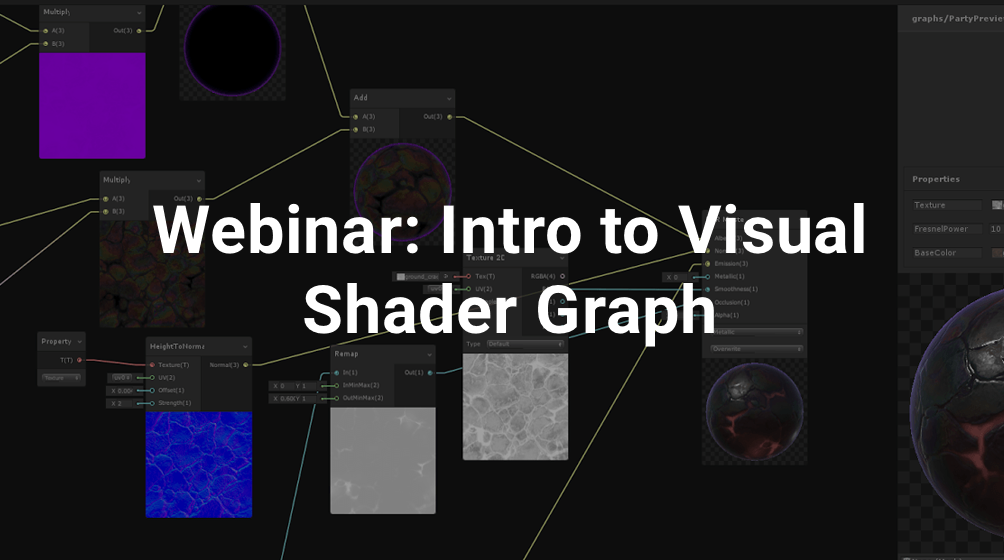 India Webinar: Intro to Visual Shader Graph
