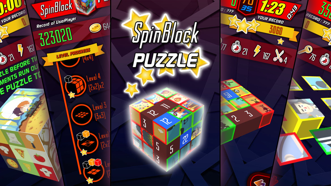 SpinBlock Puzzle (FREE)