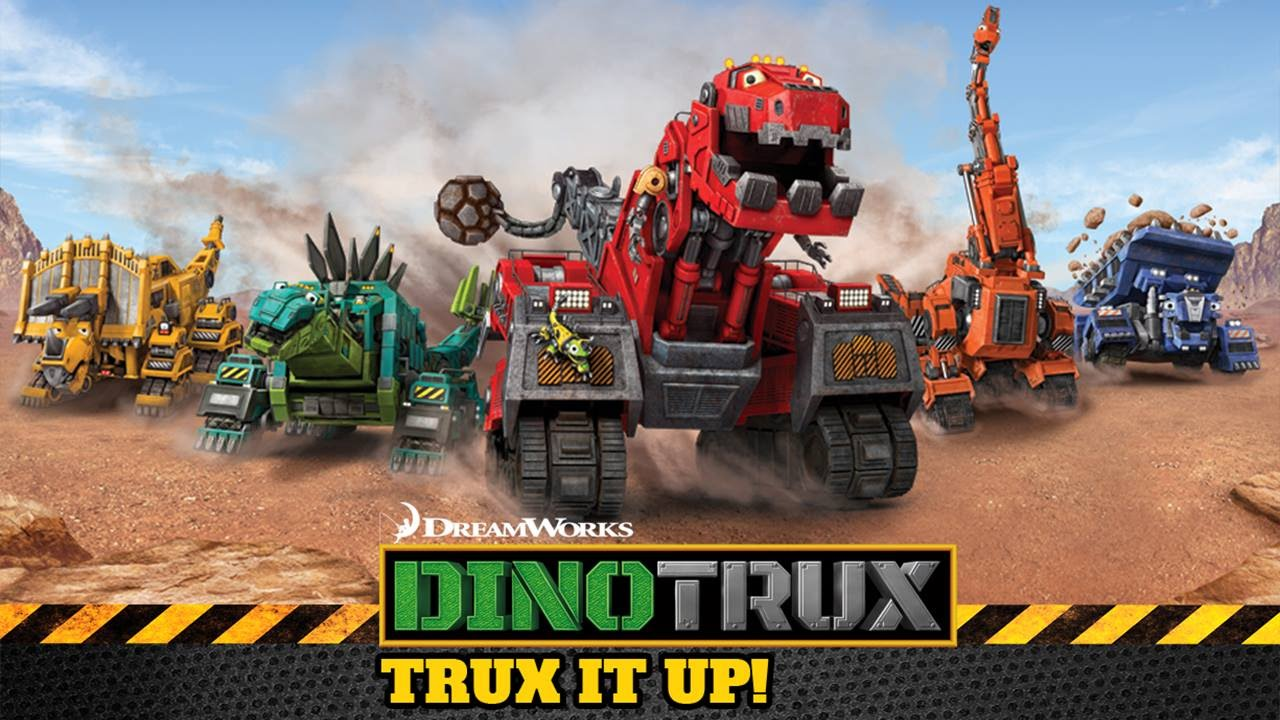 Dinotrux: trux it up