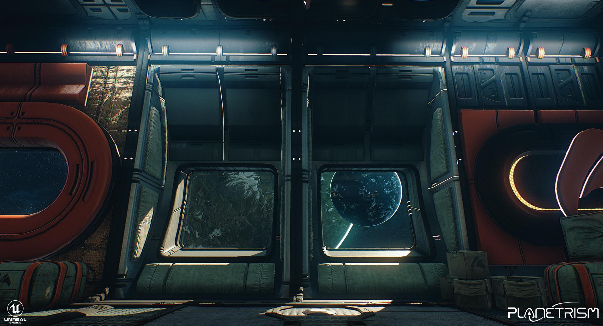 Planetrism - Space Station Hub
