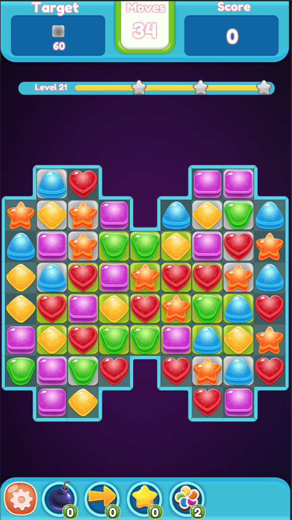 Candy Puzzle Game