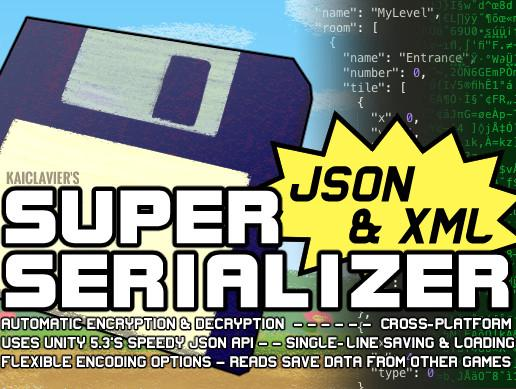 Super JSON & XML Serializer