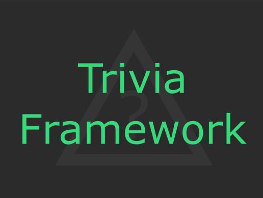 Trivia Framework