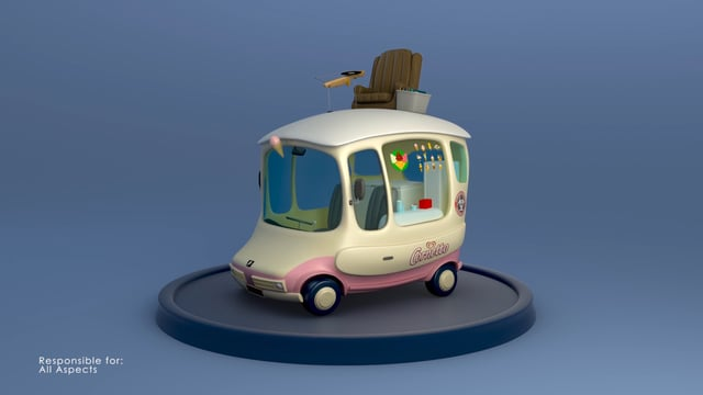 The Winchester Ice Cream Van