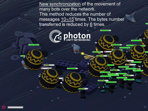 Saving Traffic. Movement Bots