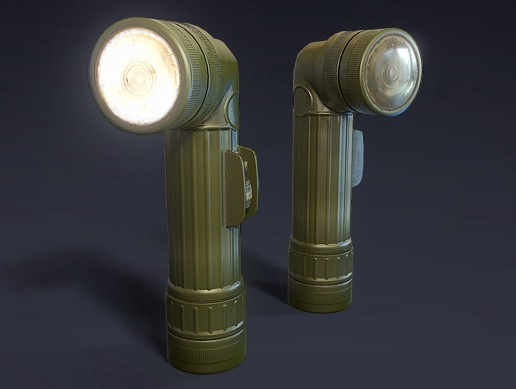 Anglehead Flashlight