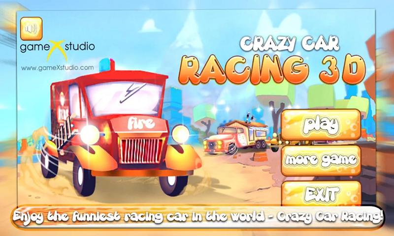 CRAZY CAR RACING 3D ONLINE