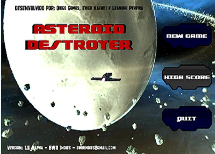 Asteroid Destroyer