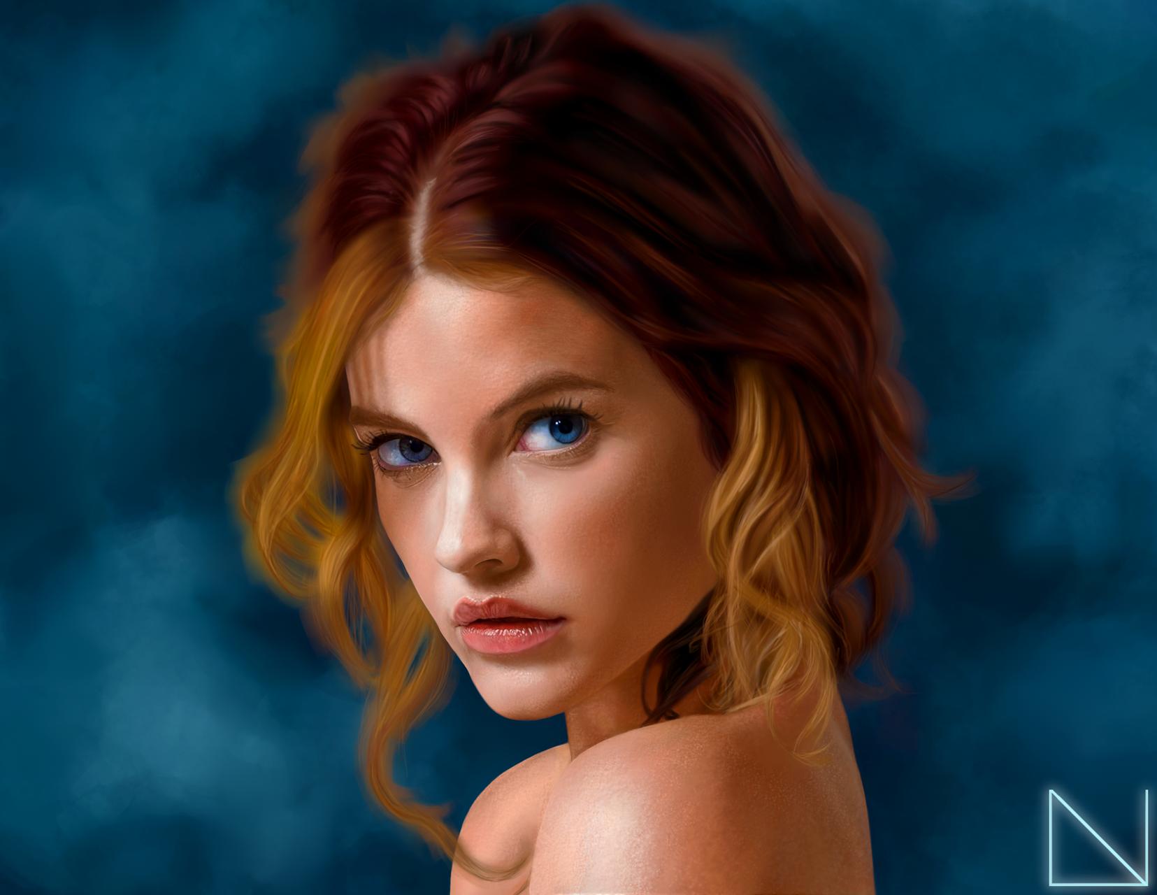 Portrait of Barbara Palvin