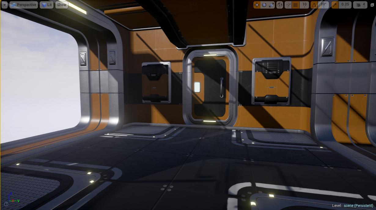 Detached - dropship interior