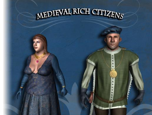 Medieval Rich Citizens