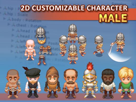 Customizable 2D Character