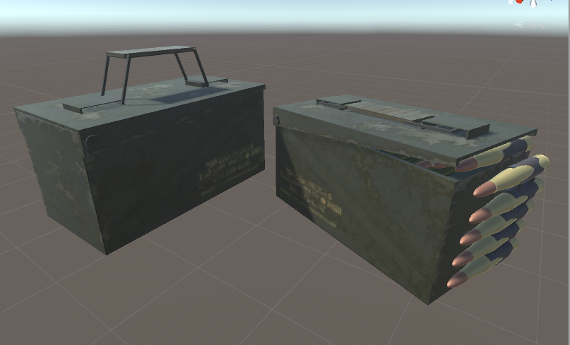 Ammo box props (In game ammo pick ups)