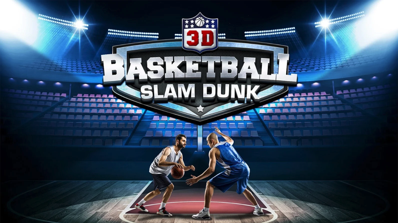 Slam Dunk Real Basketball - 3D Game
