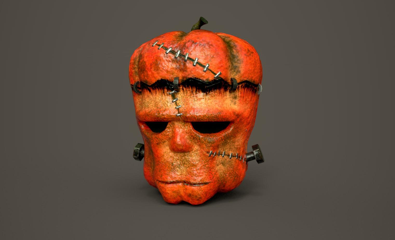 Frankenstein's pumpkin