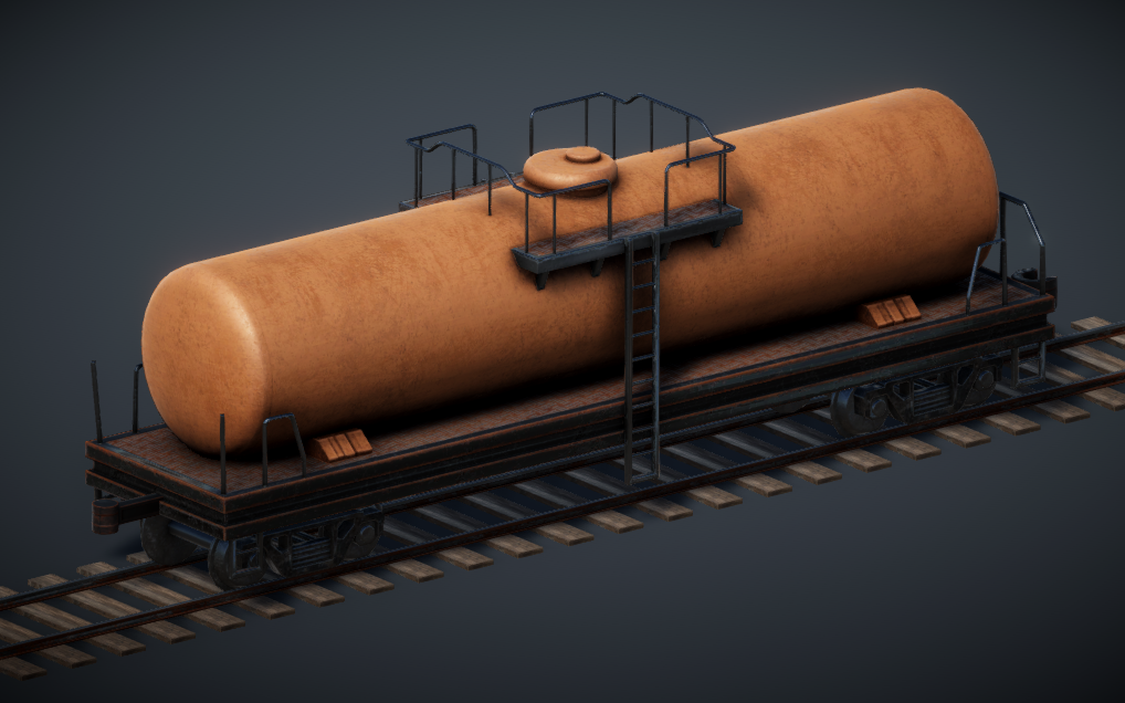 Train Controller Addon 1 - Tank Wagon