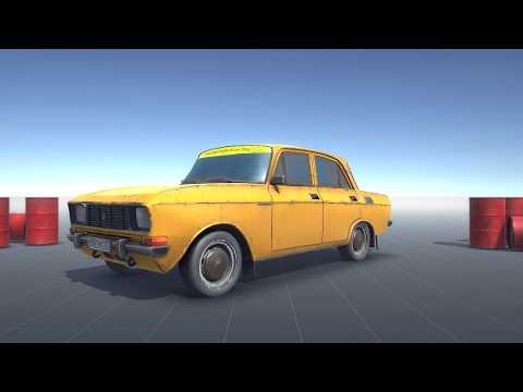 Russian Soviet Car 2140