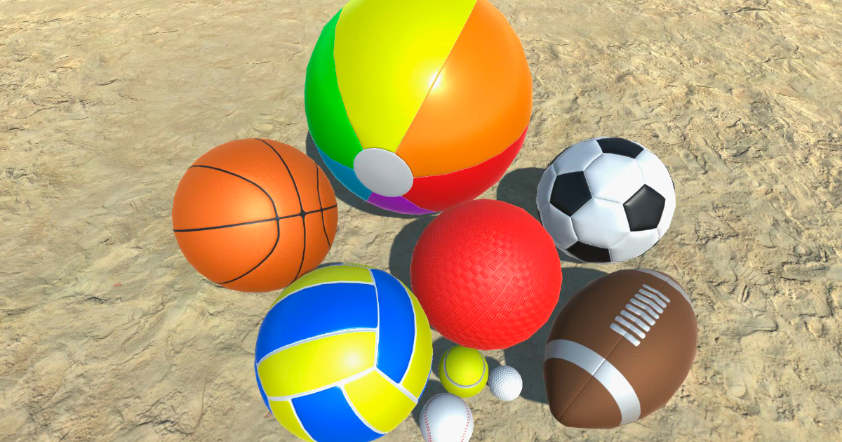 3D Balls Collection
