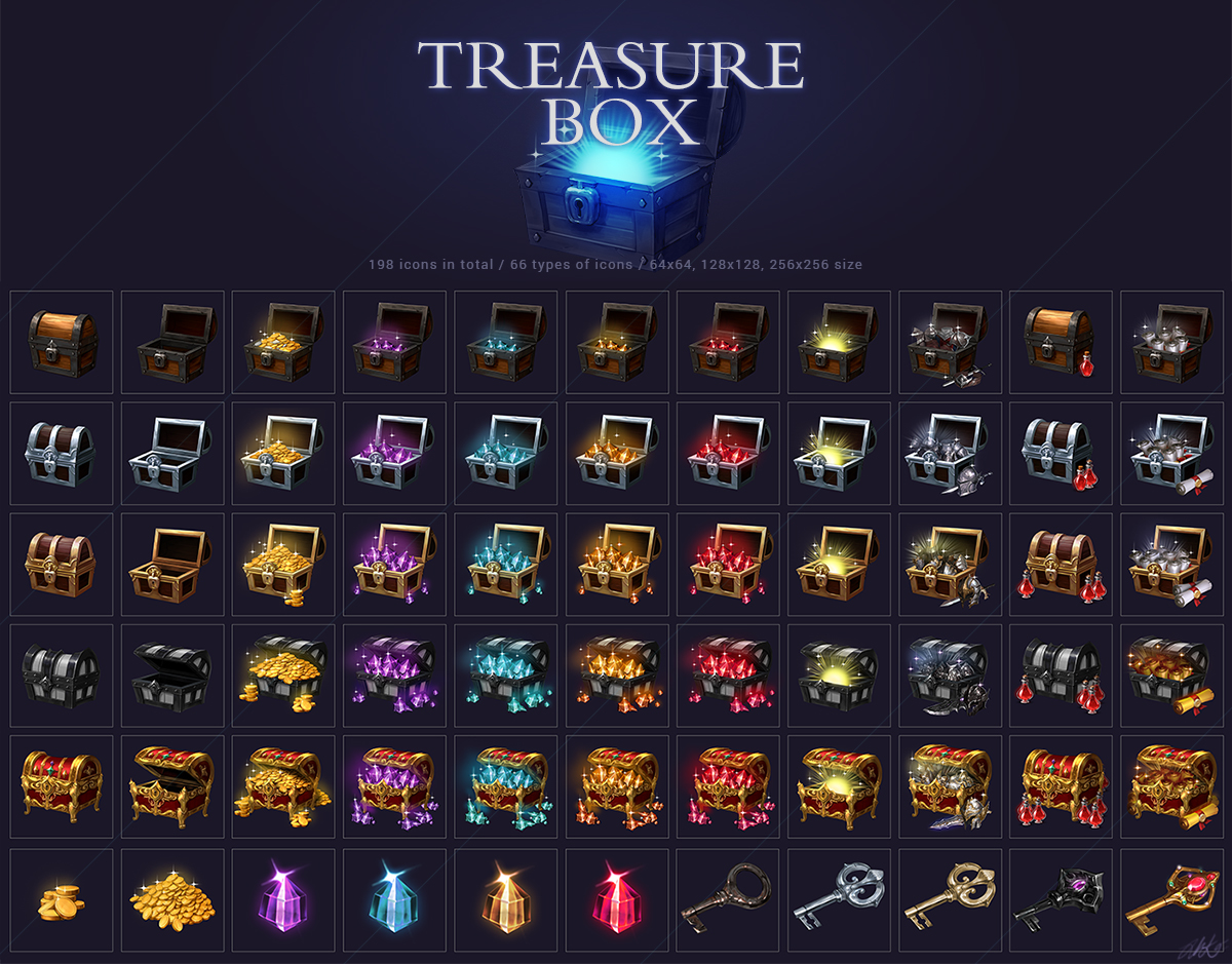 Treasure Box Set
