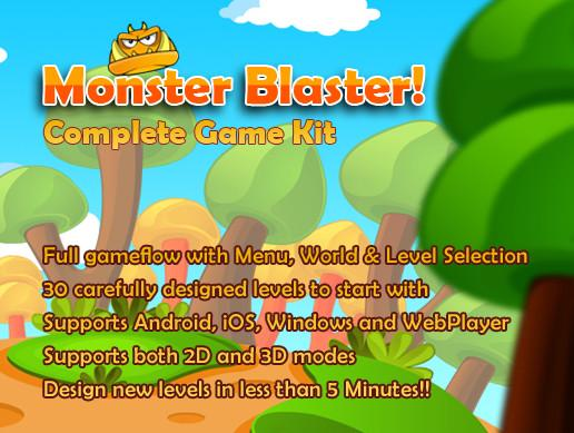 Monster Blaster! Game Kit